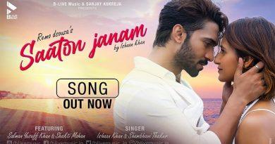 Saaton Janam Lyrics Ishaan Khan | Shambhavi Thakur