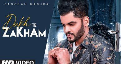 Dukh Te Zakham Lyrics Sangram Hanjra