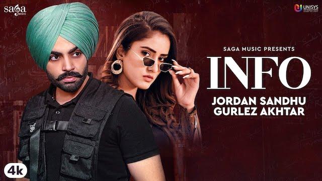 Info Lyrics Jordan Sandhu | Gurlez Akhtar