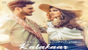 Kalakaar Lyrics Kulwinder Billa