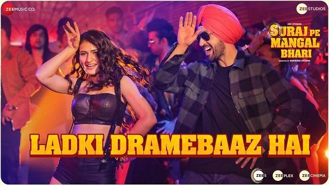 Ladki Dramebaaz Hai Lyrics - Suraj Pe Mangal Bhari