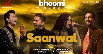 Saanwal Lyrics - Sukhwinder Singh | Bhoomi 2020