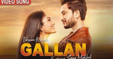 Gallan Lyrics Ishaan Khan