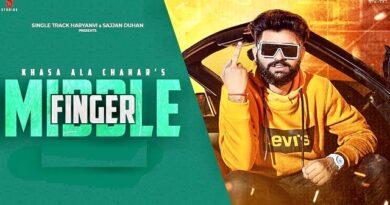 Middle Finger Lyrics Khasa Aala Chahar