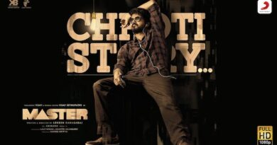Chhoti Story Lyrics Vijay The Master