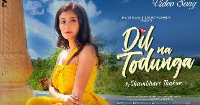 Dil Na Todunga Lyrics Shambhavi Thakur
