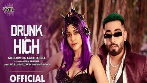 Drunk N High Lyrics Mellow D | Aastha Gill