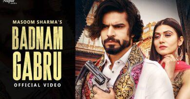 Badnam Gabru Lyrics Masoom Sharma | Manisha Sharma