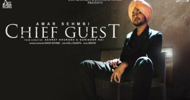 Chief Guest Lyrics Amar Sehmbi