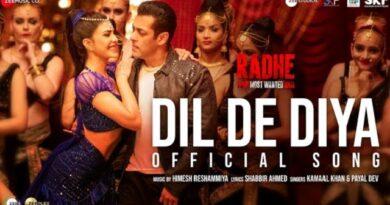 Dil De Diya Lyrics - Radhe | Salman Khan, Jacqueline Fernandez