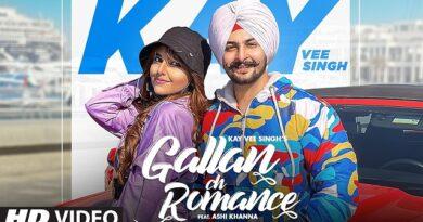 Gallan Ch Romance Lyrics Kay Vee Singh