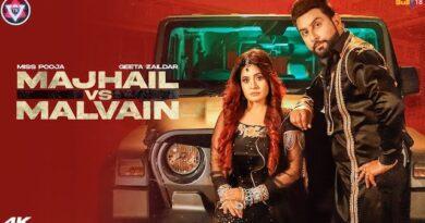 Majhail Vs Malvain Lyrics Geeta Zaildar | Miss Pooja