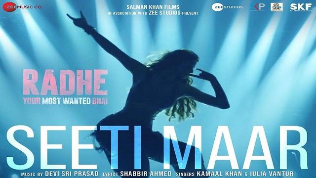 Seeti Maar Lyrics - Radhe | Salman Khan