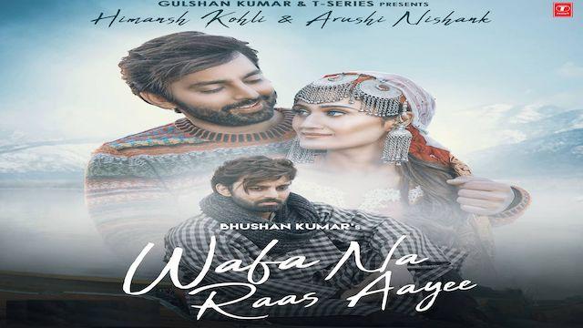 Wafa Na Raas Aayi Lyrics Jubin Nautiyal