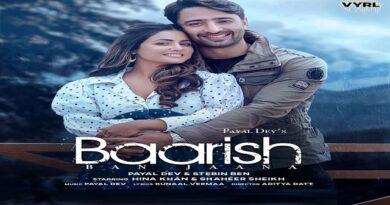 Baarish Ban Jana Lyrics - Payal Dev   Hina Khan