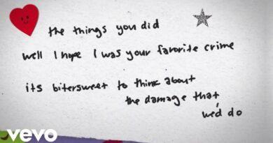 Favorite Crime Lyrics - Olivia Rodrigo