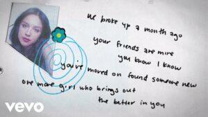 Happier Lyrics - Olivia Rodrigo