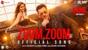 Zoom Zoom Lyrics Radhe | Salman Khan
