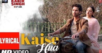 Kaise Hua Lyrics - Kabir Singh   Vishal Mishra
