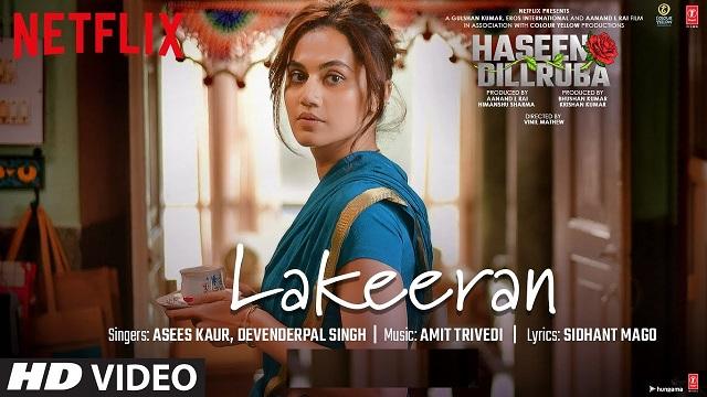 Lakeeran Lyrics Haseen Dillruba