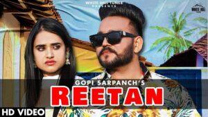 Reetan Lyrics Gopi Sarpanch