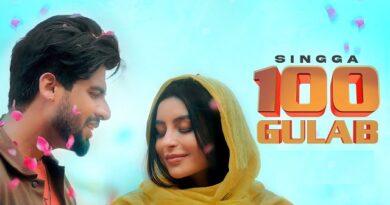 100 Gulab Lyrics Singga