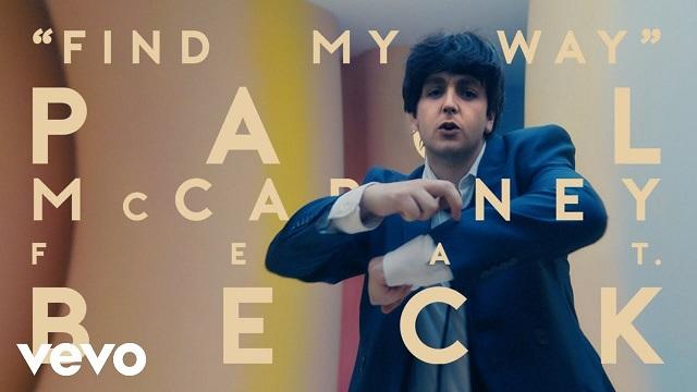 Find My Way Lyrics - Paul McCartney   Beck