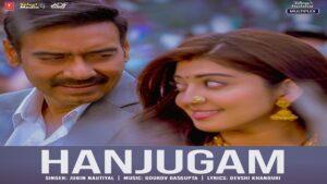 Hanjugam Lyrics - Jubin Nautiyal   Bhuj