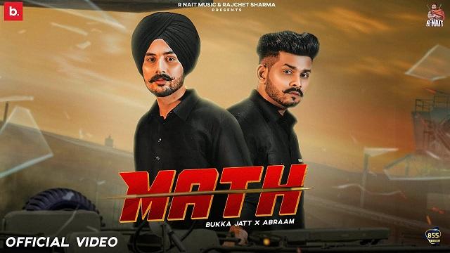 Math Lyrics Bukka Jatt | Abraam