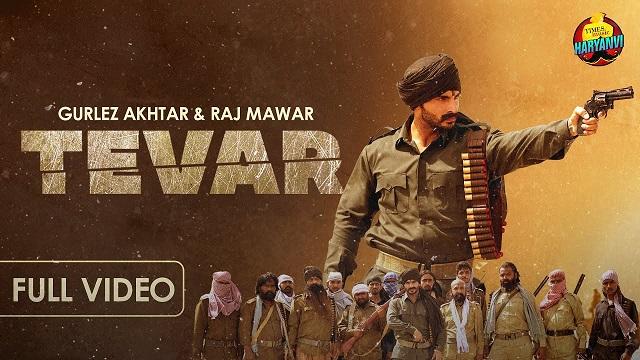 Tevar Lyrics Gurlez Akhtar   Raj Mawar