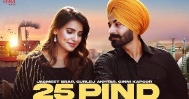 25 Pind Lyrics Jagmeet Brar   Gurlez Akhtar