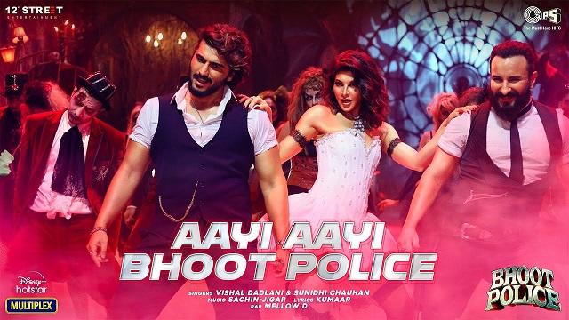 Aayi Aayi Bhoot Police Lyrics Vishal Dadlani | Sunidhi | Mellow D