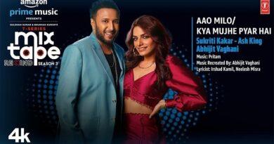 Aao Milo / Kya Mujhe Pyar Hai Lyrics Sukriti Kakar   Ash King