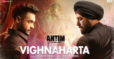 Vighnaharta Lyrics - Antim | Salman Khan