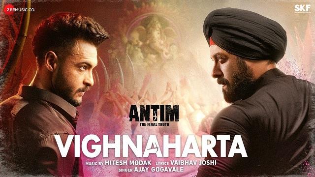 Vighnaharta Lyrics - Antim   Salman Khan
