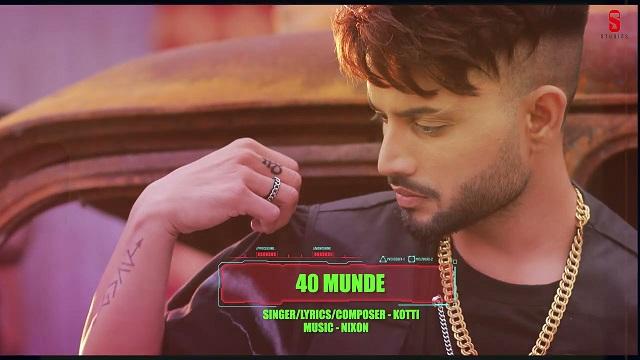 40 Munde Lyrics Kotti