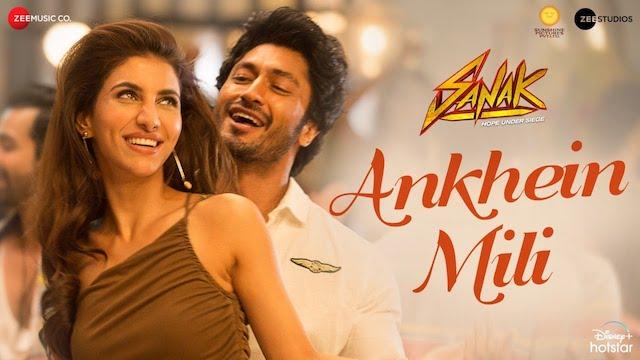 Ankhein Mili Lyrics Raj Barman | Sanak