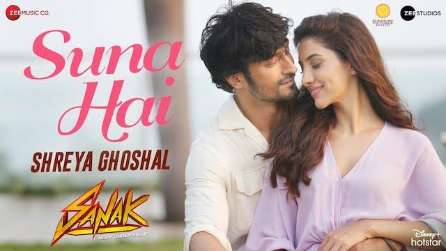 Suna Hai (Female Version) Lyrics - Shreya Ghoshal | Sanak