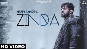 Zinda Lyrics Happy Raikoti