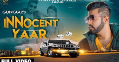 Innocent Yaar Lyrics Gunkaar