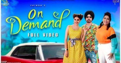 On Demand Lyrics Shinda | Afsana Khan